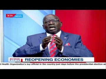 Reopening Economies Conversation with John Karani, Chair KISM on Bottomline Africa